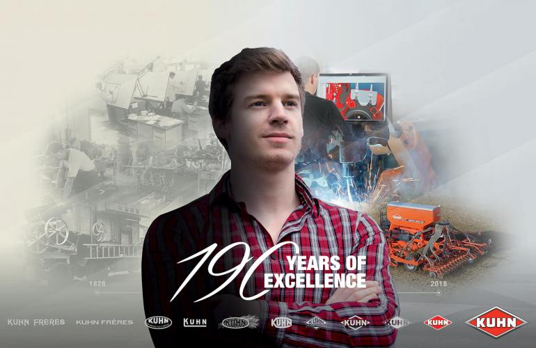 Visuel KUHN 190 Years Of Excellence