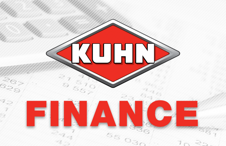 Kuhn Logo with the word Finance beneath.